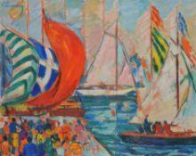 λ Roger Marcel Limouse (French 1894-1990), Regatta