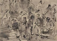 Antonio Mari Ribas (1906-1974) , Three Ibiza scenes