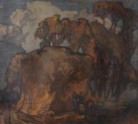 λ Frank Brangwyn (British 1867-1956), Lambs
