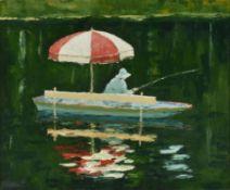 λ William Foreman (British b.1939) , Fishing Moret 2