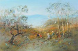 David Boyd (Australian 1924-2011), Pathway Through the Mountains