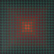 λ Victor Vasarely (French/Hungarian 1906-1997), CTA 102
