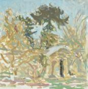 λ Jane Dowling (British b. 1925) , Oxford Botanic Gardens