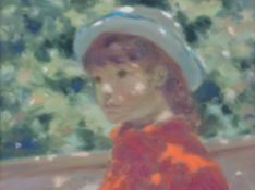 Andr Gisson (American 1921-2003), Study of Cathy, Childs head