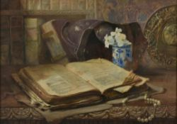 John Blair (Scottish 1850-1934) , The book of Ezekiel
