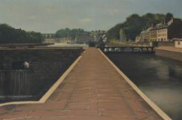 λ Georges Rohner (French 1913-2000), Morlaix