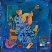 Dorit Levi (Isreali b.1952) , The Joy of The Sunny Morning