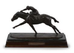 λ Philip Blacker (British b. 1949), Horse and jockey