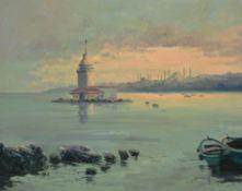 Turkish School (20th century) , View of Constantinople