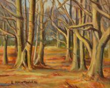 λ Lilian Hawthorn (British 1909-1996), Trees in winter