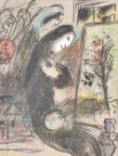 λ Marc Chagall (French/Russian 1887-1985) , Inspiration (Mourlot 398)