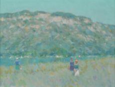 André Gisson (American 1921-2003) , Provence Landscape