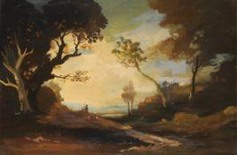 19th century Continental School, Landscape