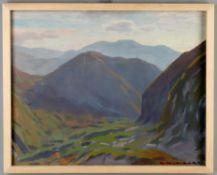 λ Giorgio Matteo Aicardi (Italian 1891-1984), Mountains Genoa