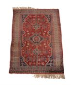 A Caucasian style rug