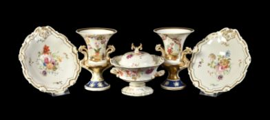A selection of English porcelain