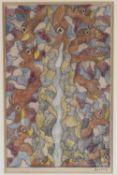 λ Scottie Wilson (Scottish 1889-1972), Untitled (eyes)