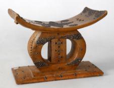 An African Ashanti (Asanti) stool