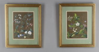 Georgina Paget (19th century), Two floral studies