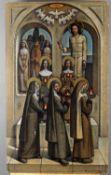 λ Giorgio Matteo Aicardi (Italian 1891-1984), Parable of the wise virgins