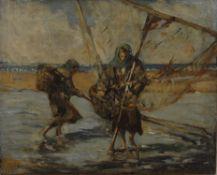 Ludovici (late 19th/early 20th century Italian), Fisherwomen
