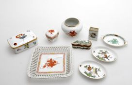 Modern decorative porcelain by Herend