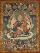 A Thang-ka depicting Padmasambhava