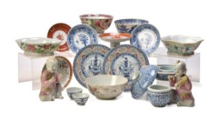 A group of 18th and 19th century Chinese wares