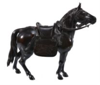 A Bronze Model of a Horse