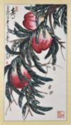 Qi Liangmo (born 1938), Peaches