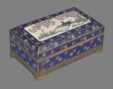 A Japanese Cloisonné Enamel Box