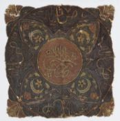 Two Ottoman embroidered cushion covers