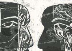 Jo Sweeting, Summer (Wild Head 2), Autumn (Wild Head 2), 2020