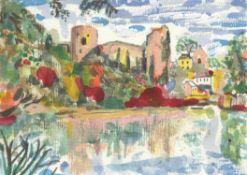 Chris Orr RA, Barnard Castle!, 2020