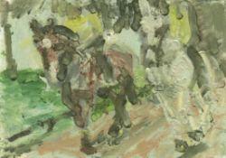 Grant Watson, Police Horses, 2020