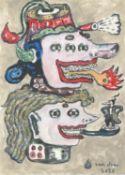 Heri Dono, Petruk as a Clown, 2020