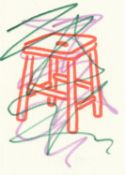 Ralph Anderson, Red Stool, 2020