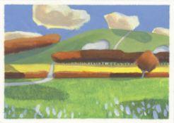 Michael Bishop, South Downs, Cloud Shadows, 2020