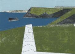Vanessa Gardiner, Sea Wall (Trevalga), 2020