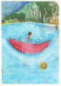 Sinéad Breslin, Praying Boy in a Boat, 2020