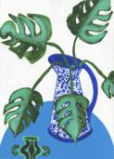 Cathy Tabbakh, Gracious Monstera Bouquet, 2020