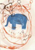 Walter Swennen, Elefant & Mice, 2020