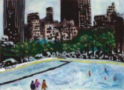 Jason Gibilaro, Central Park Ice Rink, 2020