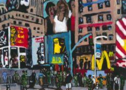 Jason Gibilaro, Times Square, 2020