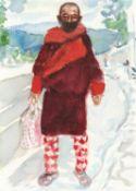 Margaret Corcoran, Covid Bhutan (small), 2020