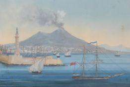 Neapolitan School (19th century), Erossione 24 Aprile 1872