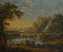 Manner of Richard Wilson, Classical landscape