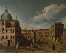 Manner of Francesco Guardi, Venetian view