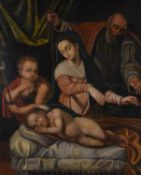 Peruvian School (possibly), After Lavinia Fontana, The Holy family