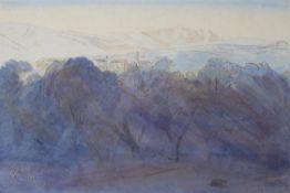 Edward Lear (British 1812-1888), Grosseto, Corsica